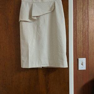 Antonio Melani Size 2 striped pencil skirt